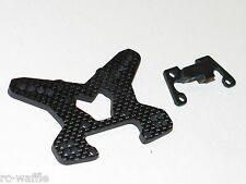TLR03008 TEAM LOSI TLR 1/10 TEN-SCTE 3.0 SHORT COURSE CARBON FRONT SHOCK TOWER