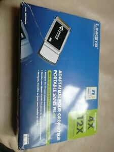 LINKSYS WPC300N Wireless-N IEEE 802.11b/g/n Notebook Adapter,