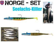2 Stück Seelachs Killer Set FOX Rage, VMC Firetiger u. Stickleback je 100g