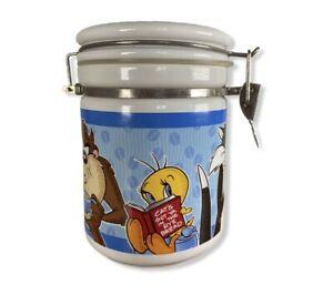 Warner Bros Looney Tunes Coffee Canister 1997 Studio Store Cookie Jar Storage