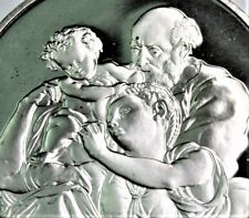 "41 gram .925 (=1.21 .999 oz)  silver ""THE DONI TONDO"" Michelangelo PROOF"