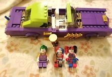 Lego Batman Movie The Joker Notorious Low rider CAR & Three Figures 70906