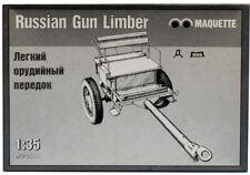 Maquette 1:35 WWII Russian Gun Ammo Trailer Limber Plastic Model Kit #MQ35009U