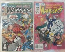 The New Warriors #12 (Jun 1991) and Annual #1 and #4 (1994) Marvel Comics