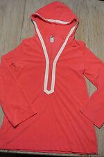 GAP Women Junior PINK Velour Hoodie Jacket Yoga Jogging Workout Sz M **EUC**