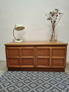Nathan squares sideboard Mid century retro. Teak. 1970s Good condition DELIVERY