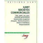 collectif - Lamy sociétés commerciales - 2002 - relié