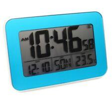 Digital Funkwanduhr Funkuhr Tischuhr Funk Uhr großes Display Temperatur Datum