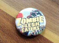 Zombie Flesh Eaters 25mm Pin Button Badge 80s Retro Horror Dawn Of The Day Dead