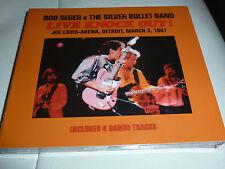 CD.2CD BOB SEGER & THE SILVER BULLET BAND.LIVE DETROIT 87.UNRELEASED.SOUNDBOARD