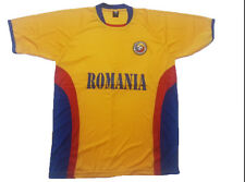 RomaniaSoccer Jersey 100% Polyester Blues Drako One Size Fits All Sh. Sleeve