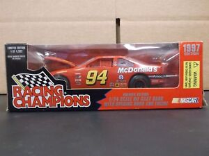 Racing Champions 1997 NASCAR #94 Bill Elliott McDonald's Ford 1:24 Die Cast Bank
