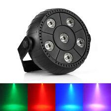 9W 6LED RGB Stage Par Light 3in1 Lighting Super Bright  Wedding DJ Party Show