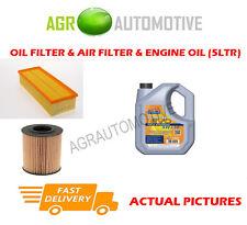 DIESEL OIL AIR FILTER KIT + LL 5W30 OIL FOR SKODA SUPERB 2.0 140 BHP 2010-