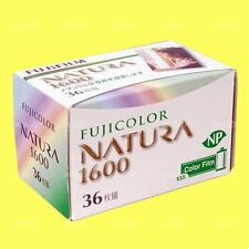 1 Roll x Fujifilm NATURA ISO 1600 Color Negative Film 135 Format 36 Exposure