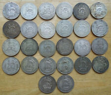 Great Britain Gb Uk 1906-1935 King Edward Vii George V Silver Shillings Coins