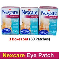 "Nexcare Opticlude Orthoptic Eye Patch Junior 2.44"" x 1.81"" 3 boxes (60 Patches)"
