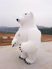 Inflatable Mascot Costume Advertising  2.8m Inflatable Polar Bear 1.6-2.2m Suits