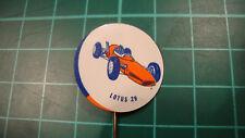 Lotus racing car pin badge original 60'S Anstecknadel lapel 29