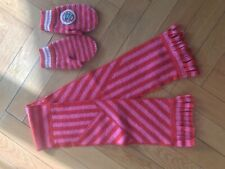Oilily set Scarf   and Gloves 100%  wool  Europian Size   4-6  yaers old
