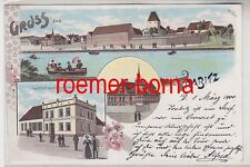 76860 Ak Lithographie Gruss aus Trabitz 1900