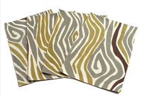 Placemats Set of 4 Zebre Collection 13x19 inches by Saro Lifestyle