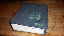 big clark fork lift truck Manual c185 210 310 scr ge ev1