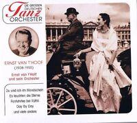 """DIE GROSSEN DEUTSCHEN TANZORCHESTER """"Ernst van T'Hoff & sein Orchester"""" NEU OVP"""