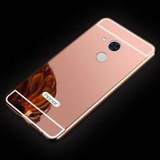 MIROIR / Miroir Pare-chocs en aluminium 2 pièces rose pour Huawei Honor 6A
