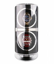 AXIS® Dual Automatic 2 Watch Winder Black AXW091B New For 2016