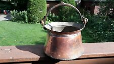 Antique Turkish Hand Made Copper Pot