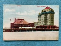 Hotel Traymore and Casino, Atlantic City New Jersey Vintage 1911 Postcard