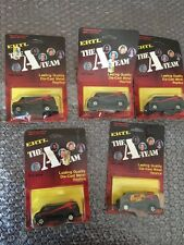 1983 ERTL The A Team Die Cast Van 1:64 Scale USA MADE Lot Of 5 Look!