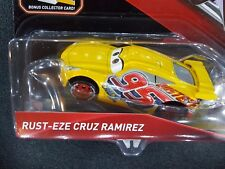 DISNEY PIXAR CARS 3 WITH CARD RUST-EZE CRUZ RAMIREZ 2017 SAVE 5% WORLDWIDE FAST