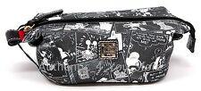 Disney Dooney & Bourke Mickey Minnie Negative Comic Strip Cosmetic Pouch Bag #5