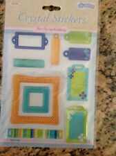 Crystal Stickers Scrapbooking NEW