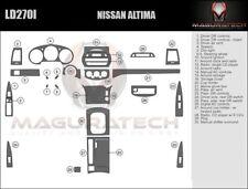 Fits Nissan Altima 2003-2004 With Manual Trans Large Premium Wood Dash Trim Kit