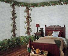 Apple Tree Kids Room Wallpaper Border Mural