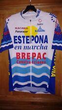 MAILLOT CYCLISTE PRO TEAM ESTEPONA 1998 OFFERT PAR M. PEREZ (NO TOUR DE FRANCE)