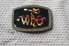 1970's The Who belt buckle
