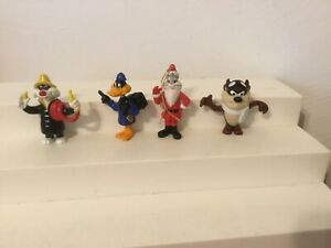 Vintage Arby's Mixed Lot of Looney Tunes Figures Bugs,Taz,Daffy,Sylvester  1989
