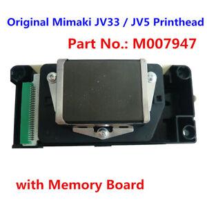 Original Mimaki JV33 / JV5 Printhead with Memory Board - M007947