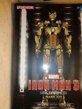 DRAGON MODELS #38136 MARVEL IRON MAN 3 HALL OF ARMOR MARK XXI NEW IN SEALED BOX