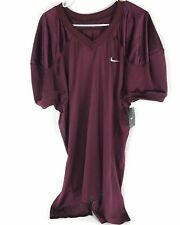 Nike Mesh Football Practice Jersey 535703 669 Mens Size Medium Maroon