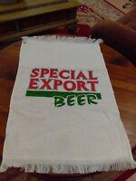 New ~ Vintage Special Export Golf Bag Towel Clip Terry Cloth ~ New