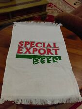New ~ Vintage Special Export Golf Bag Towel Clip Terry Cloth ~ New