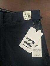 Billabong Mens Shorts Navy Blue Size 38 New w/Tags (Originally $49.95)