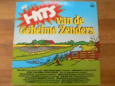 LP RECORD VINYL HITS VAN DE GEHEIME ZENDERS CNR PIRATEN MUZIEK