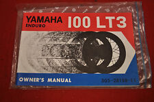 Motorcycle parts for 1973 yamaha lt3 ebay nos 1973 yamaha lt3 100 enduro owners manual fandeluxe Gallery