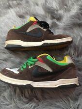 Nike 6.0 Oncore Rasta  2007 Skate Shoes Sb Mens Size 6 313661-204